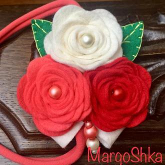Пов'язка «Ніжні троянди»