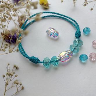 Браслет с кристаллами Swarovski