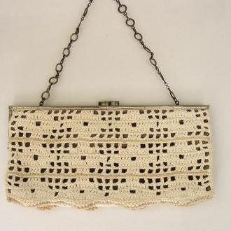 Маленькая Вечерняя сумочка на фермуаре Клатч Аксессуары для женщин