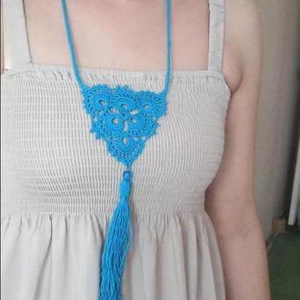Бирюзовое ожерелье