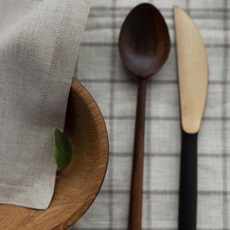 Салфетки кухонные из льна, столовые салфетки из льна, льняные салфетки, текстиль для кухни