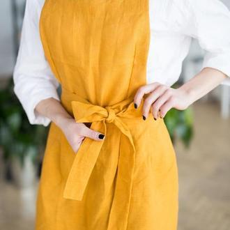 """Фартук - платье """"Шафран"""""""