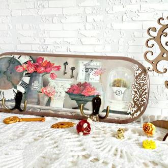 "Вешалка ключница ""Le jardin"""