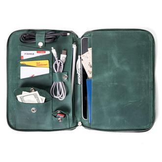 Кожаная сумка органайзер
