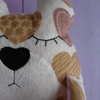 Игрушка сплюшка мишка