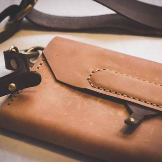 Поясная сумка-трансформер cluck (кожа)