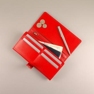 Женский кошелек портмоне из натуральной кожи SPACE