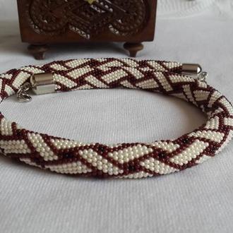 Жгут бисерный Плетенка