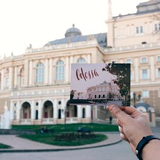 Листівка «Одеський оперний театр»