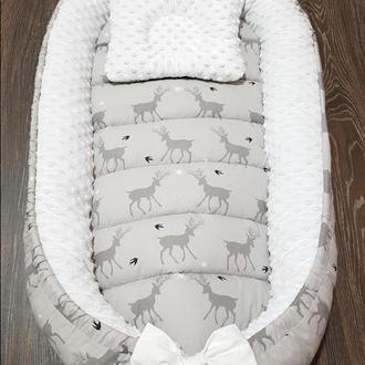 Гнездышко-кокон, позиционер, babynest, кокон для новорожденных