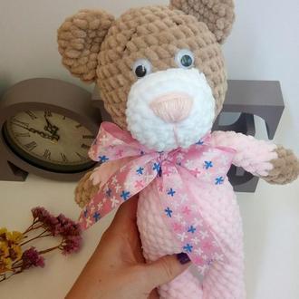 Мишка. Ведмедик. Вязаний ведмедик.