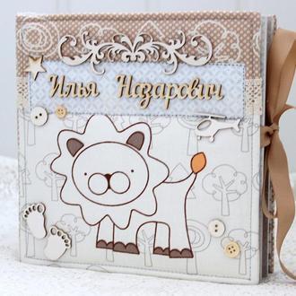 Фотоальбом для малыша , детский альбом на заказ