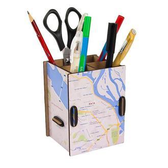 Органайзер для ручек и карандашей «Карта Города»