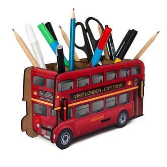 Органайзер для ручек и карандашей «Лондонский Автобус»