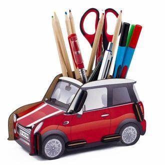 Органайзер для ручек и карандашей «Автомобиль Красный»