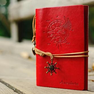Блокнот ADVENTURE, Красный