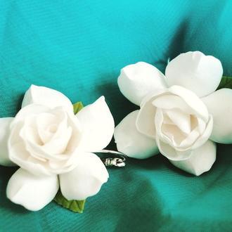 Серьги Душистое чудо Свадебные серьги Серьги цветы