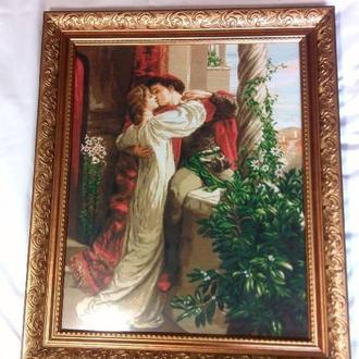 """Большая картина """"Ромео и Джульета"""" (28х35см)"""