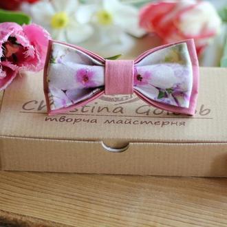 """Бабочка цвета пыльной розы """"Romantik"""""""