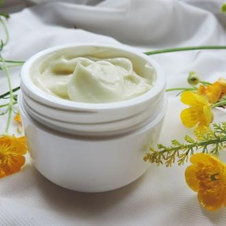Янтарный витаминный крем для нормальной и сухой кожи