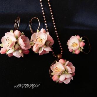 Нежность весны, цветочный комплект