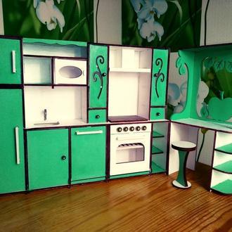 Кухня для кукол Барби. Мебель для кукол