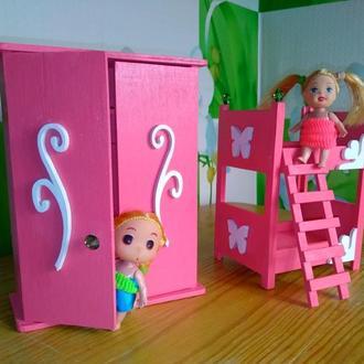 Набор мебели для кукол ЛОЛ. Кукольная мебель.