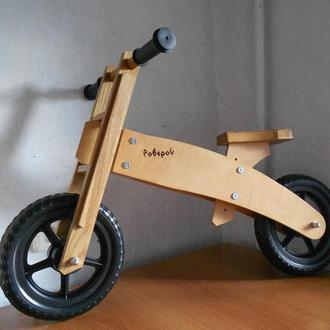 Роверок, деревянный велобег (беговел), wood balance bike
