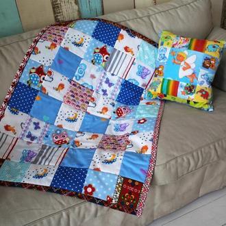 Детское одеяло-покрывальце  в кроватку