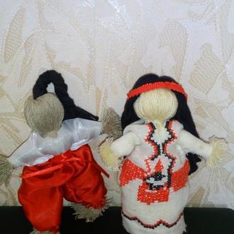 куклы в национальной украинской одежде