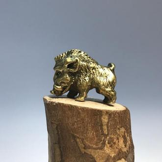 Фигурка бронза Вепрь ( Кабан)