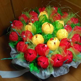 """Букет из конфет """"Весенний"""""""