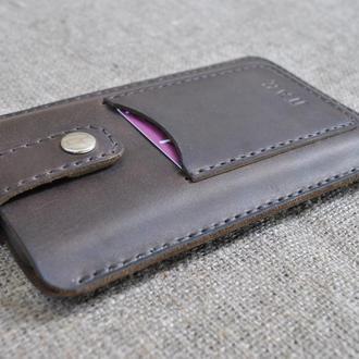 Чехол для телефона из натуральной кожи с креплением для ремня H14-450