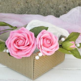 Венок Розовые розы