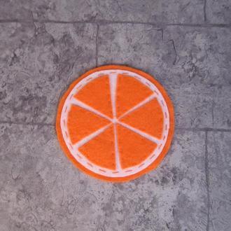 """Подставка под чашку """"Апельсин"""""""