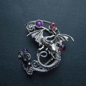 Кафф ''Пурпурный дракон''