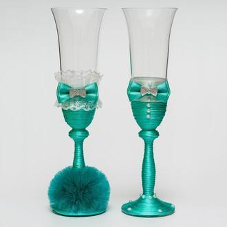 Свадебные бокалы (арт. WG-209)