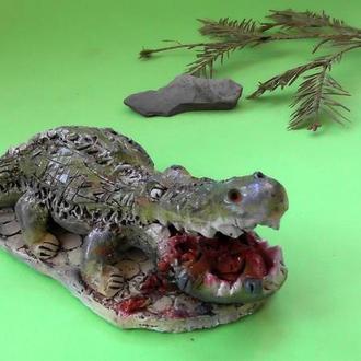 Статуэтка крокодил №3