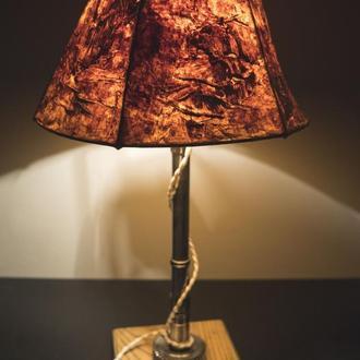 """Настольная лампа с абажуром """"Pride&Joy"""", светильник 01LSH"""
