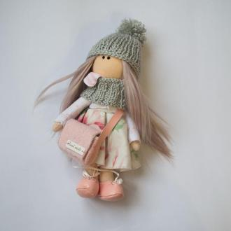 Интерьерные куклы, мягкая кукла, Арт кукла, кукла Тильда,подарок для девочки