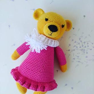 Ведмедик в рожевому