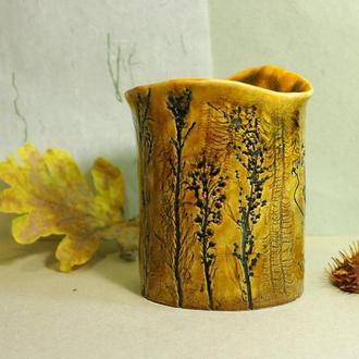 """Ваза """"Осенние травы"""""""