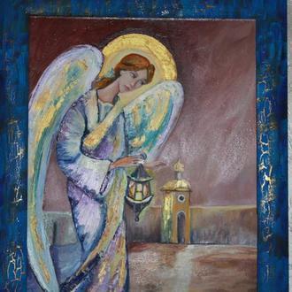 картина,ручной работы Мой ангел