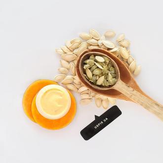 Маска з насіння гарбуза