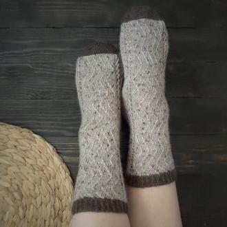 Вязаные носки Уютные (из специальной носочной пряжи)