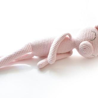 Вязаные игрушки мягкие сплюшки для самых маленьких деток
