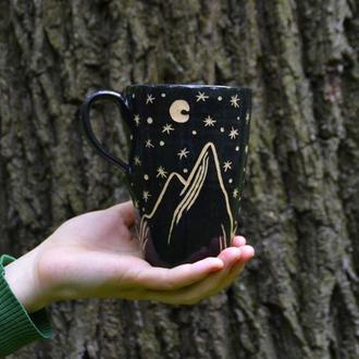 Чашка Горы и Ночь. (500 мл)