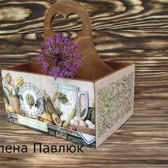 Короб для специй, столовых приборов