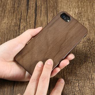 Деревянный чехол,бампер,накладка на айфон из дерева (iPhone 6,6s,7,7+,8,8+,10,X)