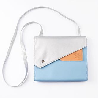 """Голубая сумка через плечо """"Frida"""""""